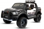 Mobile Preview: Ford Raptor Police Kinder Elektro Auto 2-Sitzer 2x35W 12V 10Ah 2.4G RC SUV