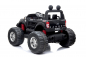 Preview: Kidcars Ford Monster Elektro Auto metallic Lack Allrad 2-Sitzer 4x35W 2x 12V 7Ah 2.4G RC SUV