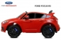 Mobile Preview: Lizenz Ford Focus RS Kinder Elektro Auto 2x 35W 6V 9Ah