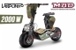Preview: Velocifero 2000W 60V MAD Elektro Scooter 6 Zoll Brushless Motor