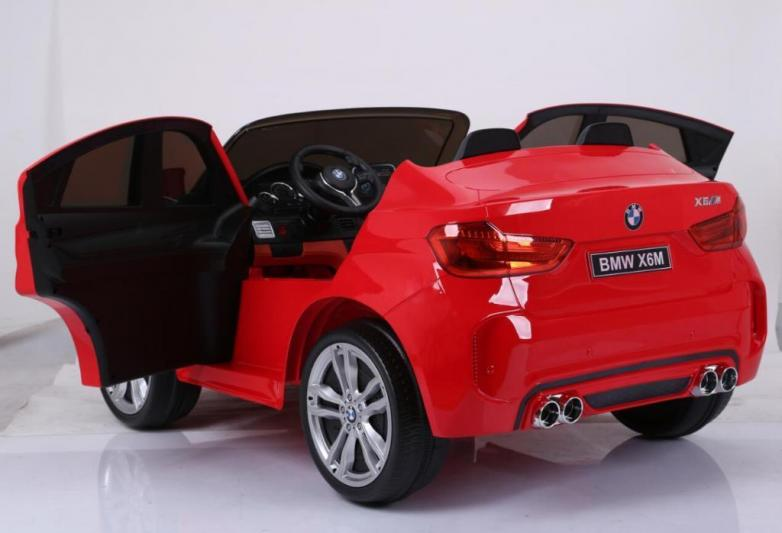 kidcars kinder elektroautos mit akku bmw x6 m 2 sitzer. Black Bedroom Furniture Sets. Home Design Ideas