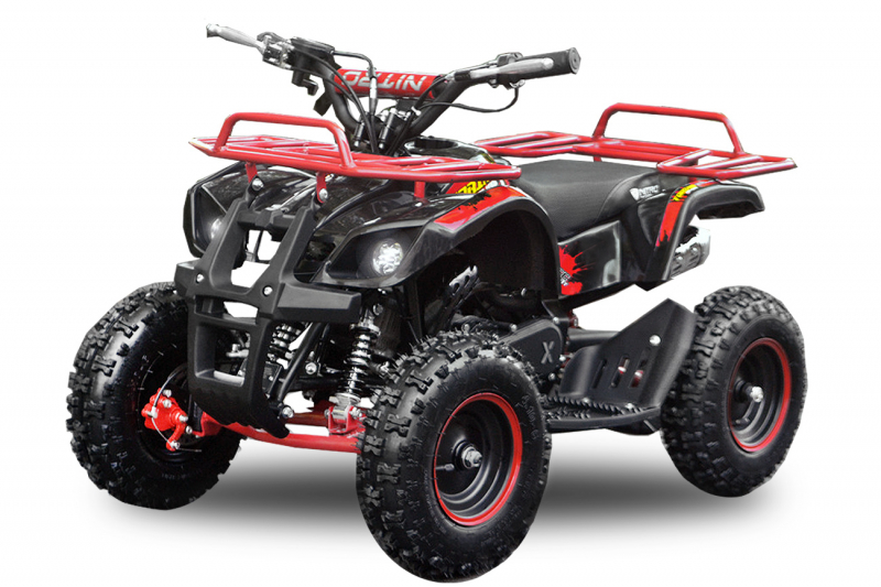 "49cc Torino Deluxe E-Start 6"" Miniquad Atv Kinderquad"