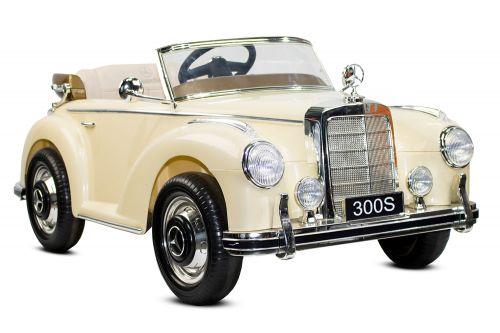kidcars kinder elektroautos mit akku mercedes 300s 2x35w 12v kinder elektroauto rc klassik. Black Bedroom Furniture Sets. Home Design Ideas