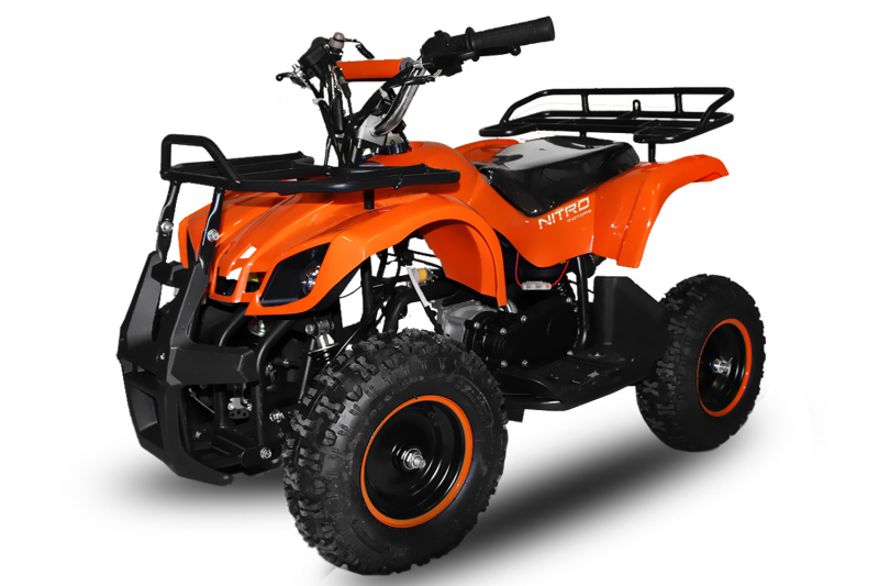 "49cc Torino 6"" E-Start Miniquad Atv Kinderquad Cross Pocketquad"