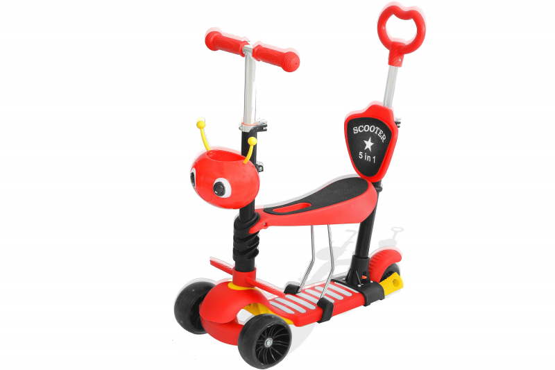 3in1 Mini Roller Scooter Dreirad Kinderroller