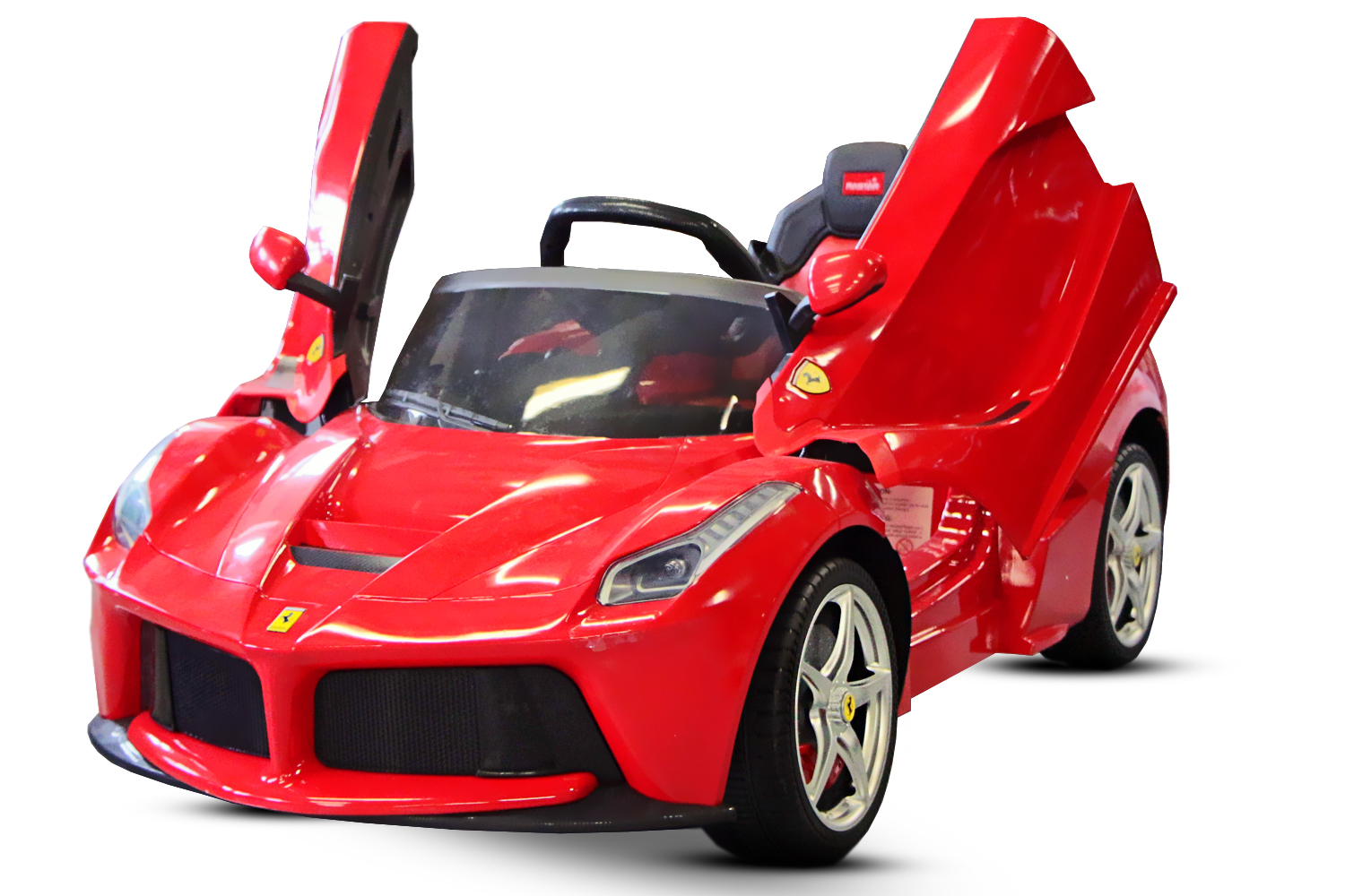 kidcars kinder elektroautos mit akku lizenz kinder elektro auto ferrari laferrari 2x 25w 12v rot. Black Bedroom Furniture Sets. Home Design Ideas