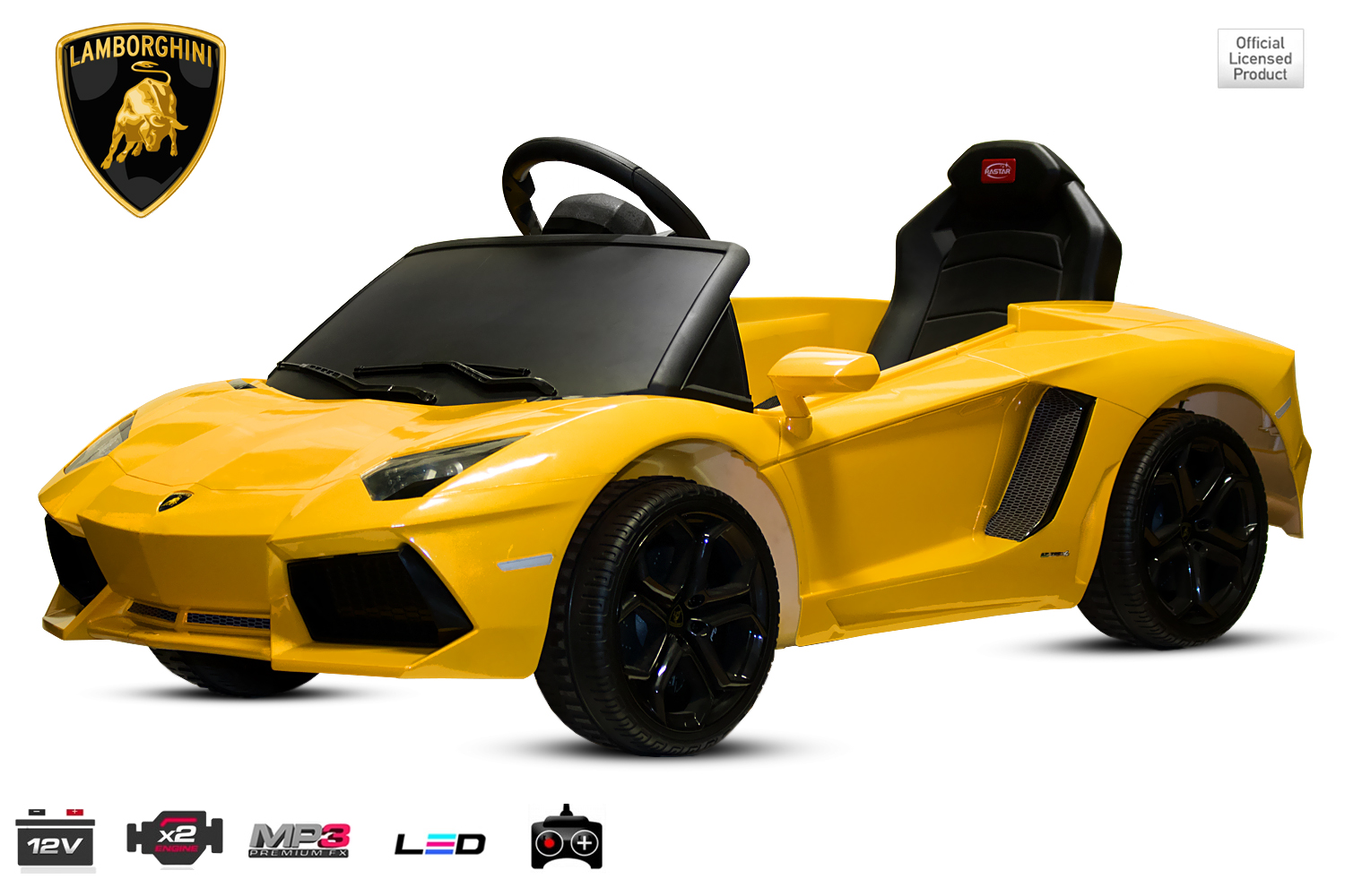 kidcars kinder elektroautos mit akku lizenz kinder elektro auto lamborghini aventador lp 700 4. Black Bedroom Furniture Sets. Home Design Ideas