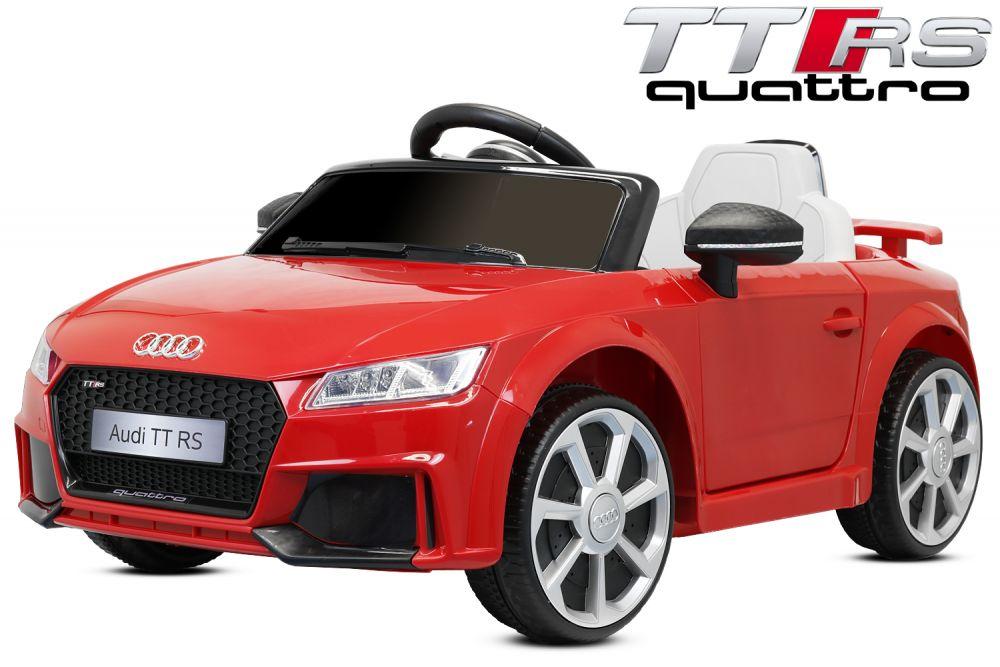 kidcars kinder elektroautos mit akku lizenz audi ttrs premium kinder elektro auto. Black Bedroom Furniture Sets. Home Design Ideas