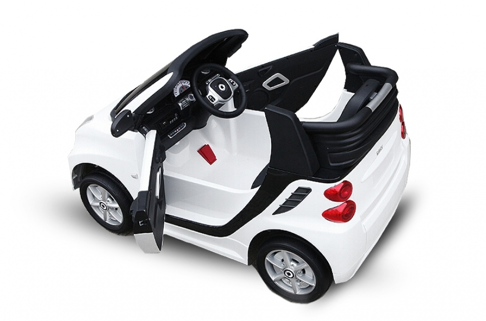 Lizenz Elektro Kinderauto Smart For Two 2x30W 6V